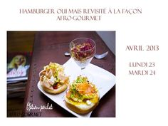 Hamburger option poulet revisité façon Afro-Gourmet Création Culinaire: Afro-gourmet Photo Light Painting: Cebos Shooting