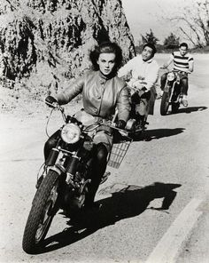 Image result for vintage pictures girls on motorcycles