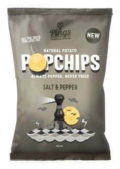 Popchips by Marx Design #cool #package