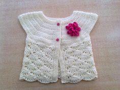 Liliana Milka Crochet: TALLES CHALECO NIÑA