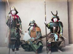 The last of feudal Japan's warriors.