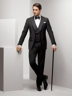 The Groom's Guide To Wedding Wear: The Tuxedo Lookbook Inspiration