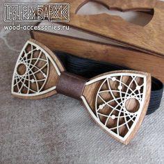 beautiful #wooden #bowtie by v-vasilinka