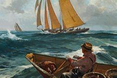 156 meilleures images du tableau Newfoundland banks' dory en 2016   Navires, Bateaux à voile et ...
