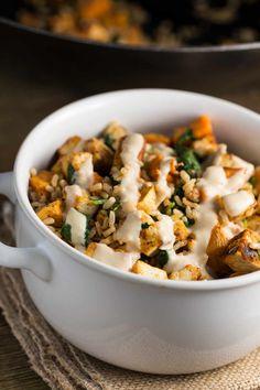 Sweet Tahini Sauce | via veggiechick.com #vegan