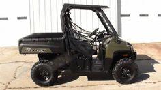 2012 Polaris RANGER 800 Side-By-Side , Dark Green, 33 hours for sale in Elberton, GA