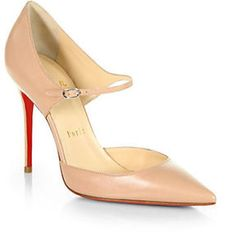 Christian Louboutin Tirana Leather Mary Jane Pumps on shopstyle.com