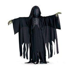 Harry Potter Dementor Costume - Kids, Boy's, Size: Medium, Black