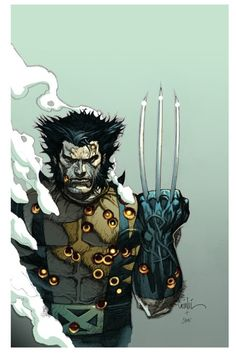 Since no one knows anyway, I'm just going to go ahead and claim Wolverine as Cherokee.