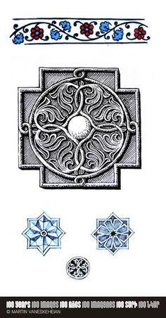 098. Armenian motifs No.2 / Motivos Armenios No.2 / Հայկական մոտիվներ No.2 © Martin Vaneskeheian