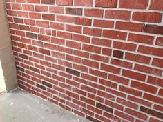 Faux Brick Walls: 6 Steps (with Pictures) Architecture Portfolio Layout, Interior Architecture, Pictures Of Bricks, Brick Laying, Faux Brick Walls, Thin Brick, Brick Colors, Architectural Section, Patio