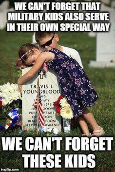 Too many children will have to grow up without ever having known their military parents. When will we STOP hating them for fighting for us and START thanking them for it? Usmc, Marines, National Cemetery, Fallen Heroes, Fallen Soldiers, Welt, Some Gave All, Decir No, Fight For Us