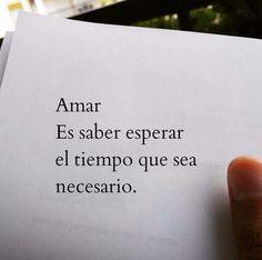 Amar, será cierto eso...