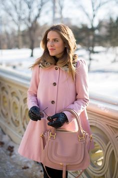 Pink Swing Coat - Gal Meets Glam