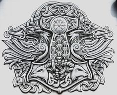 Two Ravens by Tattoo-Design on DeviantArt