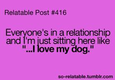 i don even have a dog :[ lol