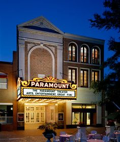 Catch one of our films in at the historic Paramount Theater in downtown Charlottesville!