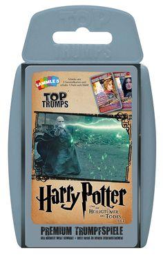 TOP TRUMPS HARRY POTTER UND DIE HEILIGTÜMER DES TODES TEIL 2 #TopTrumps #HarryPotter #HeiligtümerdesTodes #Teil2 #Voldemort #Finale #Hermine #Ron #Harry