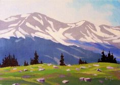 Easy Acrylic Painting On Canvas | Elevation, 5x7, Acrylic/Canvas Panel, original painting by artist Zack ...