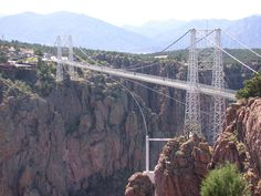 Drove over the Royal Gorge as an adult passenger and had our kids with us. Our daughter was afraid of heights!