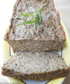 Bären & # Knoblauch-Terrine (vegan, vegan) - Projets à essayer - Vegetarian Day, Vegetarian Recipes, Delicious Vegan Recipes, Raw Food Recipes, Gluten Free Cooking, Vegan Gluten Free, Vegan Pate, Lentil Loaf, Healthy Food Alternatives