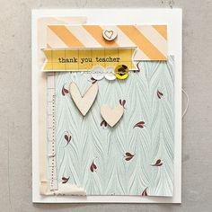 Thank You Card >> Maggie Holmes Studio Calico Oct  by MaggieHolmes @2peasinabucket
