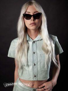 483d65d5f08b Daily Front Row s Editor s Pick  Chrome Hearts Bailey Girl Cat-Eye  Sunglasses  http