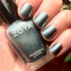 Didn't have time to clean up my cuticles, but Zoya Crystal is so pretty anyway.  #nails #nailpolish #nailsofinstgram #shortnails #stubbynails #instnails #swatch #zoya #zoyacrystal #swatches