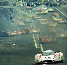 Le Mans , entered by Porsche Konstruktionen K. (A) , Porsche 917 LH , driven by V. Porsche Sports Car, Sports Car Racing, Road Racing, 24h Le Mans, Le Mans 24, F1 Austin, Nascar, 24 Hours Le Mans, Classic Race Cars