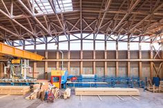 © 11h45 / Usine de fabrication ECOTIM, La Rochette (74) - Architectures Amiot-Lombard