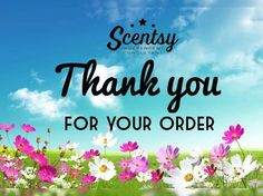 Thank you for your Scentsy order!