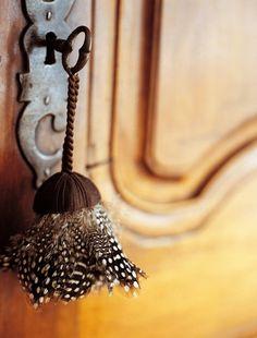 feather tassel
