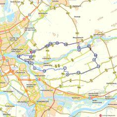 Fietsroute: Langs de molens in de Alblasserwaard  (http://www.route.nl/fietsroutes/144202/Langs-de-molens-in-de-Alblasserwaard/)
