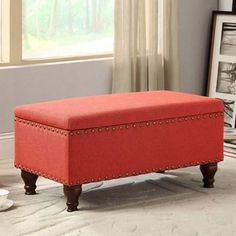 Wayfair Oakford Upholstered Storage Bench