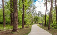 The Atlanta Beltline's Northside Trail is just one of several in-town options for hiking and running.