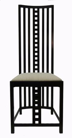 Charles Rennie Mackintosh Hill House Chairs, Set of Eight image 2
