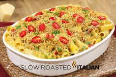 Italian Sun-Dried Tomato Pasta Bake in just 30 Minutes