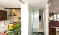 An Open Apartment in Brazil Full of Raw Materials Photo