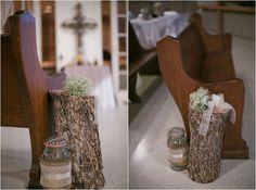 Tree Stumps At Wedding