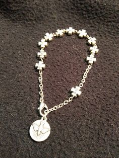 Rescued & restored decade rosary bracelet. ***SOLD***