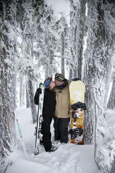 snowboarding engagement photos - Google Search
