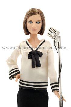 barbra streisand | Barbra Streisand – Celebrity Doll Museum