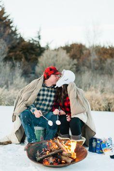 Nick and Rachel's Ice Fishing Adventure