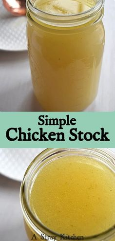 Making homemade chicken stock is easy and so worth while. It's cheaper than buying store bought, you get more nutrients (yay bone broth!) and you get better flavor.  Make it as often as you want, use it right away, or freeze it for using later. It's uses are bountiful.  It's naturally Gluten free, dairy free, and Paleo. Healthy Gluten Free Recipes, Healthy Food, Apple Cider Vinegar Chicken, Great Recipes, Dinner Recipes, Homemade Chicken Stock, Buy Chickens, Dairy Free Diet, Bone Broth