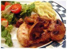 5*        Balsamic Dijon and Mushroom Chicken