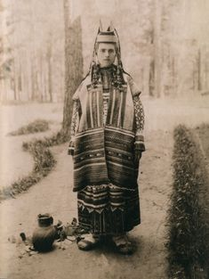 Костюм Рязанской губ. Из коллекции Натальи Шабельской