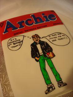 Archie Comic cake