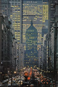 Pan Am building now the MetLife Building on Sixth Avenue – officially Avenue of the Americas, although this name is seldom used by New Yorkers – is a major thoroughfare in New York City's borough of Manhattan.
