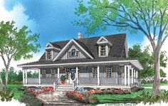 Farmhouse House Plan with 1968 Square Feet and 3 Bedrooms from Dream Home Source   House Plan Code DHSW41785