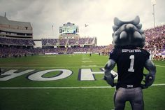 Who's ready for some Horned Frog Football?! #soclose